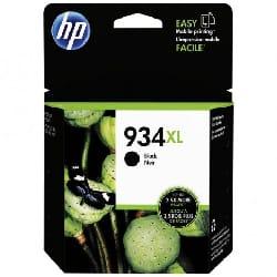 Cartouche jet d'encre HP original C2P23AE pour HP 934XL - Noir