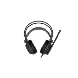 MSI DS502 Casque Arceau Noir, Rouge