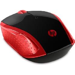 HP 200 souris Ambidextre RF sans fil Optique 1000 DPI